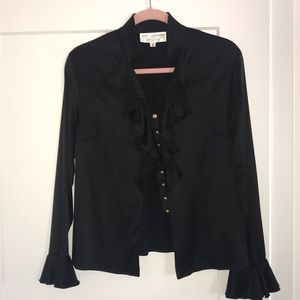 St. John collection blouse. Size 2.